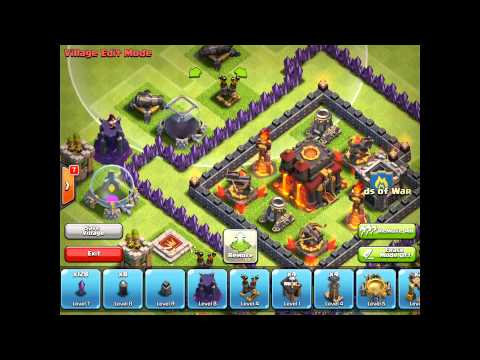 Clash Of Clans - Village Edit Mode Demo