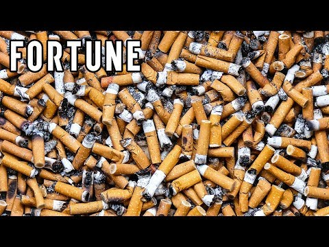 Battle of the Butt: Cigarettes Are Top Source of World's Litter I Fortune