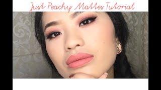 Just Peachy Mattes Tutorial | Patcess