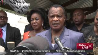 President Nguesso seeks referendum in bid to stay in power