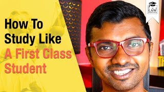 How To Study Like A First Class Student