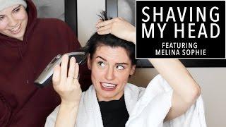 Video SHAVING MY HEAD! ft Melina Sophie | Sorelle Amore download MP3, 3GP, MP4, WEBM, AVI, FLV Maret 2017