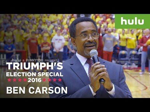 Triumph the Insult Comic Dog's Ben Carson Social Experiment • Triumph on Hulu