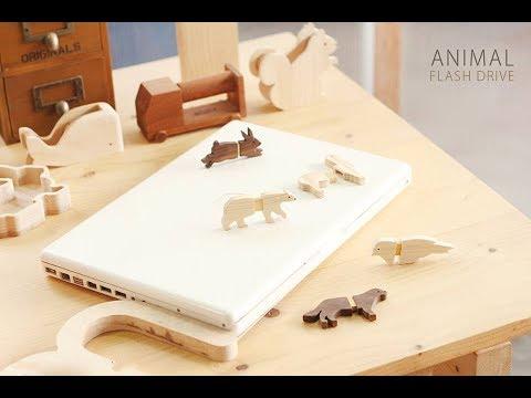 MINK'S wooden flash drive