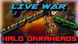 Clash of Clans --LIVE EPIC WAR -- Watch me War -- CWL Chosen Elite vs We Are Spartans!