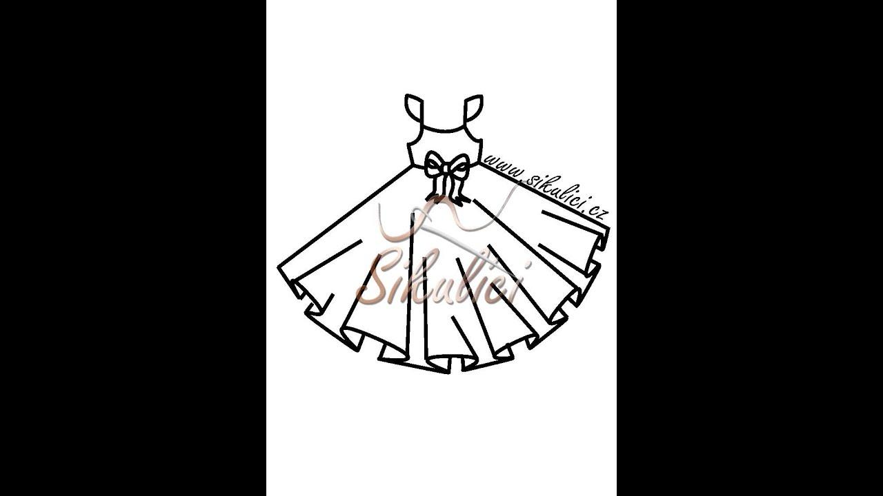 37b2ad3706ef Jak ušít šaty (3-6let) + střih - YouTube