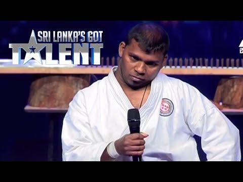 Karate Act by Sudarshana Deshapriya | Sri Lanka's Got Talent Audition 01