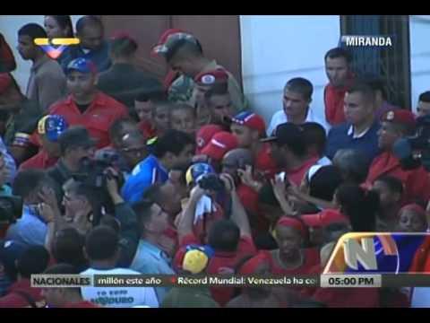 Presidente Nicolás Maduro es recibido en Curiepe, 14 noviembre 2015