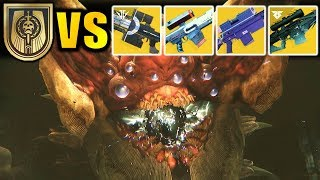 Destiny 2: EVERY Exotic Sniper Rifle VS RIVEN!