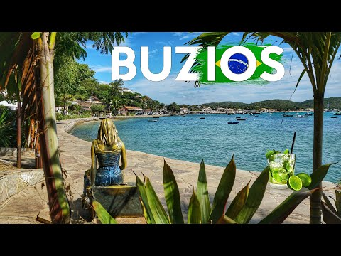 Buzios - Un paraíso de Brasil 🇧🇷 4K