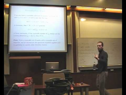 """Keye Martin: """"Domain theory and the causal structure of spacetime II"""""""