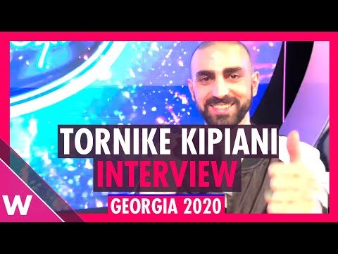 Tornike Kipiani (Georgia Eurovision 2020) Interview @ Georgian Idol