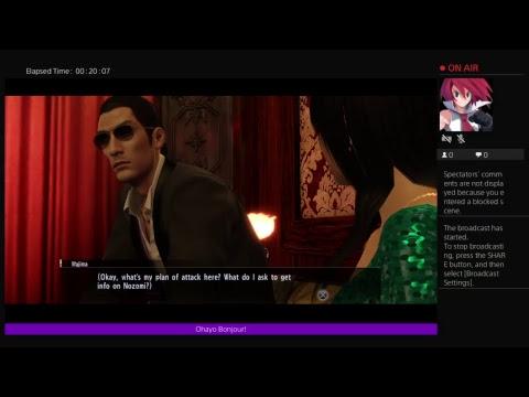 Let's Streaming: Yakuza 0