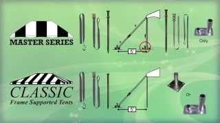 Classic Series Frame Tents And Master Series Frame Tents