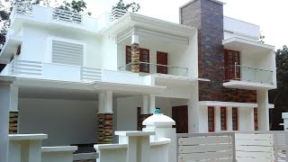 10 Cents Plot And 2,600 Sq Ft Ready To Occupy, Luxury House For Sale In Angamaly Residential Area