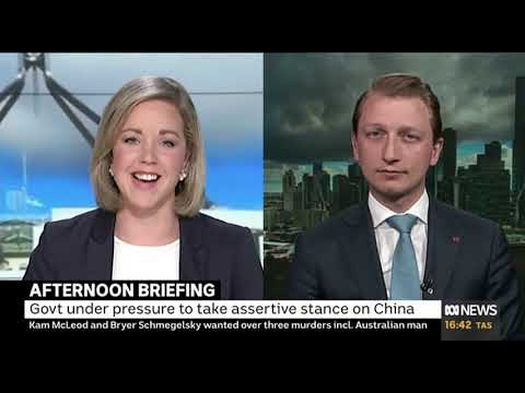 Senator Paterson on Afternoon briefing talking China-Australia relations, Andrew Hastie, and more