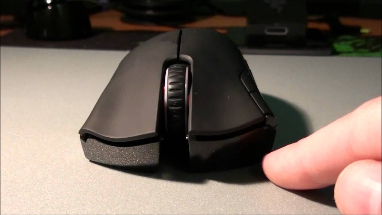 Razer Mamba 4G Dual Sensor 6400DPI Wireless Gaming Mouse