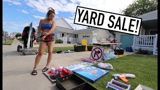 Selling At COMMUNITY YARD SALE!!!