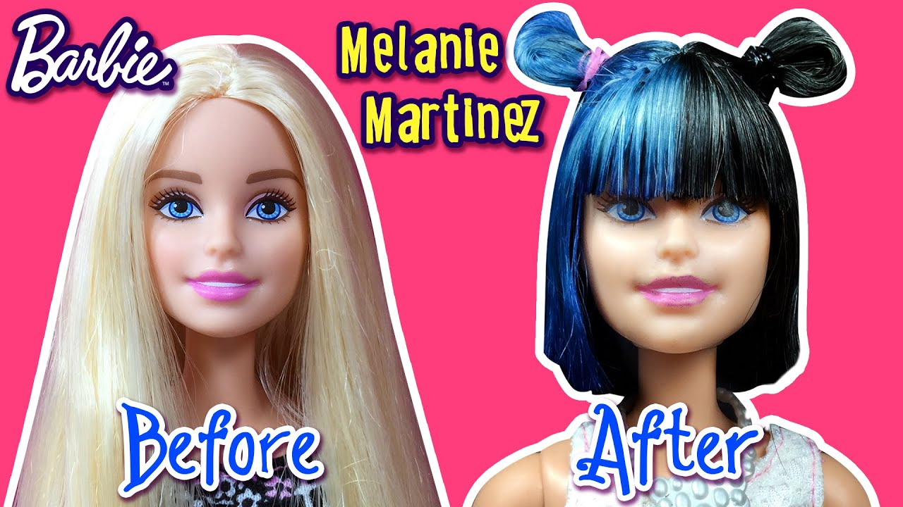 Melanie Martinez Hair Tutorial For Barbie Doll Barbie