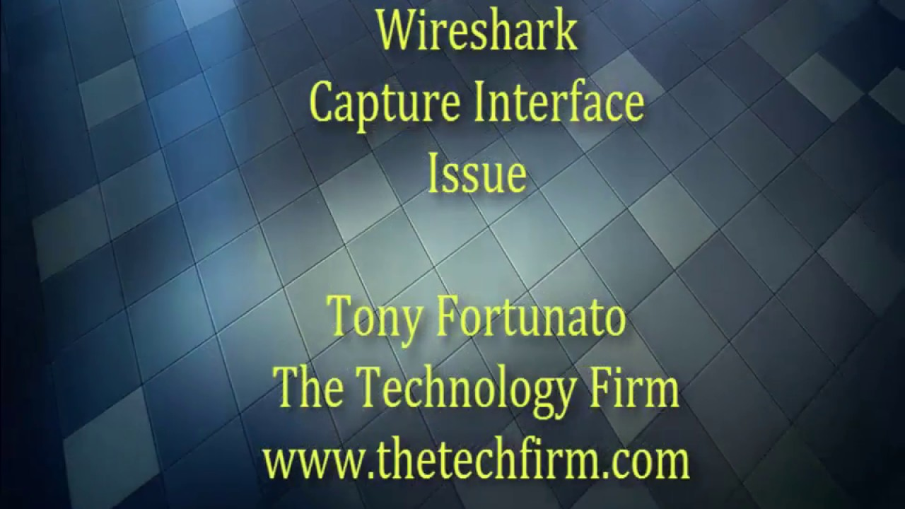 Wireshark Capture Interface Issue Version 2 4 3