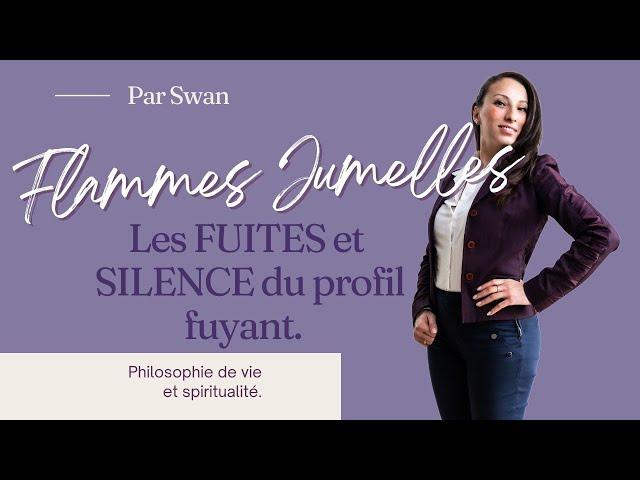 FLAMMES JUMELLES: Les FUITES et les SILENCES du RUNNER.