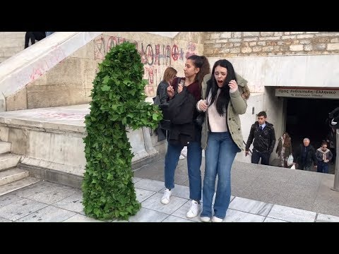 Bushman Prank in Greece: Different Reactions, Same Laugh