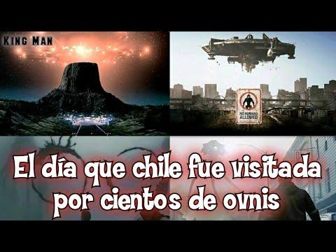 El día que Chile fue invadida por Ovnis