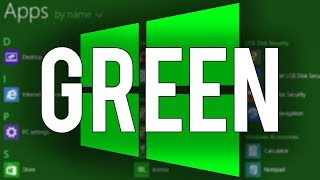 Windows 8 Green Edition - Overview & Demo