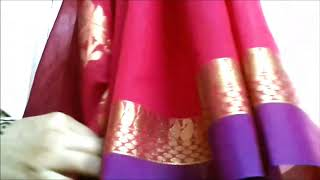 Do this before wearing Cotton & Silk Saree