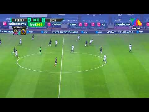 Gol de O. Fernández | Puebla 1 - 0 León | Liga MX - Guardianes 2020 Apertura  | LIGA BBVA MX