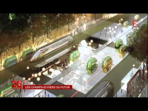Les Champs-Elysées en 2025