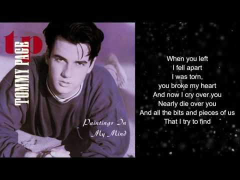 Tommy Page - Painting In My Mind