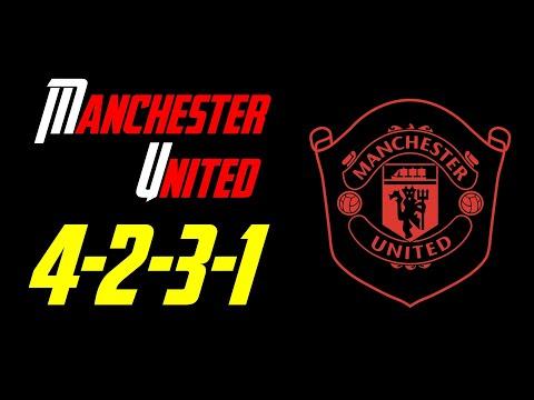 FIFA Online 4   Team color Manchester United với sơ đồ 4-2-3-1 meta gameplay