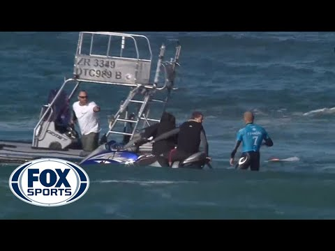 SHARK ATTACK! Pro Surfer Mick Fanning encounters shark in South Africa