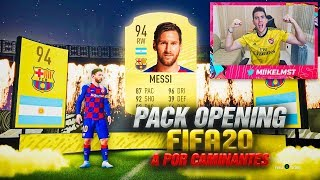 CAMINANTES AL FIN !! +90 IN A PACK Y MÁS | PACK OPENING FIFA 20