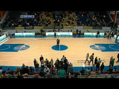 Petteri Koponen #8 (yellow jersey) for Khimki Basket (Euroleague MVP of the week)