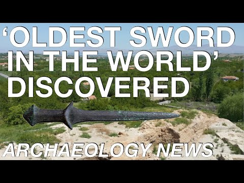 BREAKING NEWS - 'Oldest Sword In The World' Discovered // Aslantepe // Bronze Age Weaponry