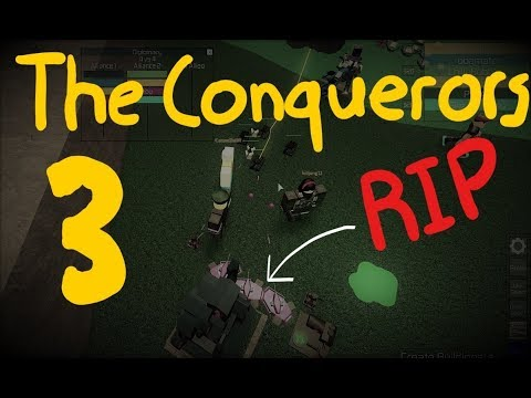 ROBLOX The Conquerors 3 4v4 - The Last Mansion (with DallasBleach & the Legendary Caram3loBR)