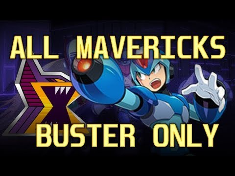 MegaMan (X1-X8) All Bosses (Buster Only / No Damage) - Hard mode