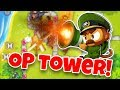 THE MOST OVER POWERED TOWER IN BLOONS TD 6!?!?!