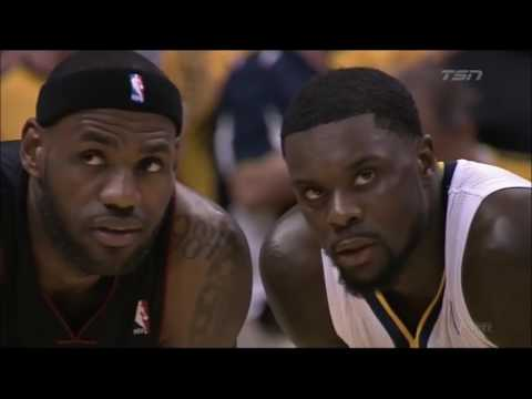 Lance Stephenson Blows in LeBron's Ear