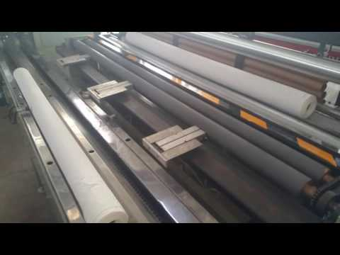 Papercraft small toilet paper roll rewinding and cutting machine production line