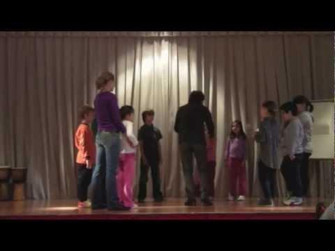Simone Mongelli - body music workshop with children