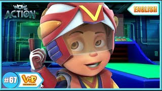 Vir: The Robot Boy | Invisible Power Attack | English episodes for Kids | WowKidz Action