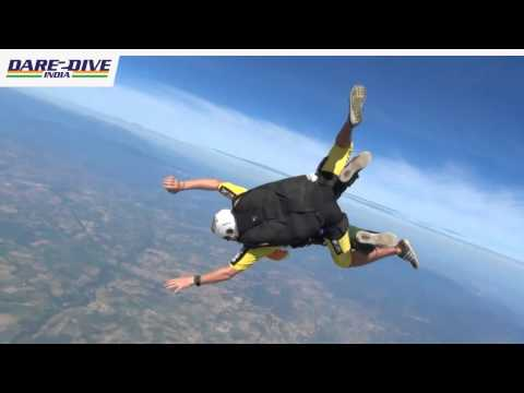 Dare 2 Dive India - World Record Attempt in Sky-Diving & Scuba-Diving