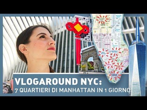 VLOGAROUND NYC: 7 QUARTIERI DI MANHATTAN IN UN SOLO GIORNO!