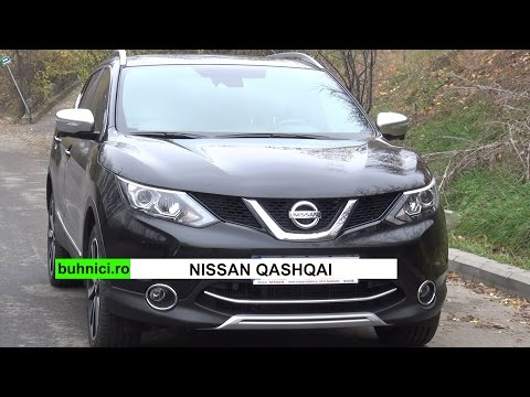 Nissan Qashqai 2015 Review www.buhnici.ro