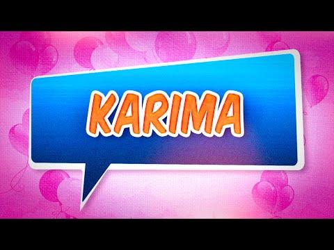 Joyeux Anniversaire Karima Youtube