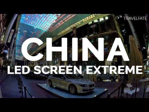 World's biggest Screen | China
