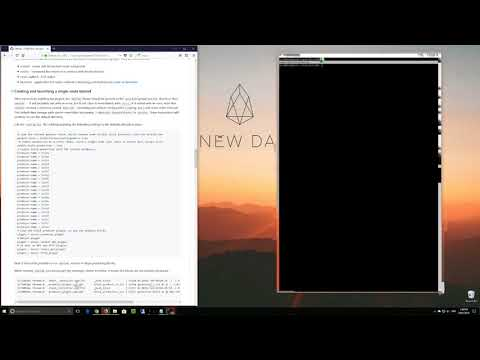 Building an EOS development environment from source